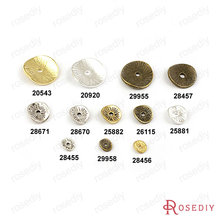 Min mix Order $5 9*8mm Antique Bronze round Alloy Separated Spacers Findings Accessories 100 pieces(J-M1411)