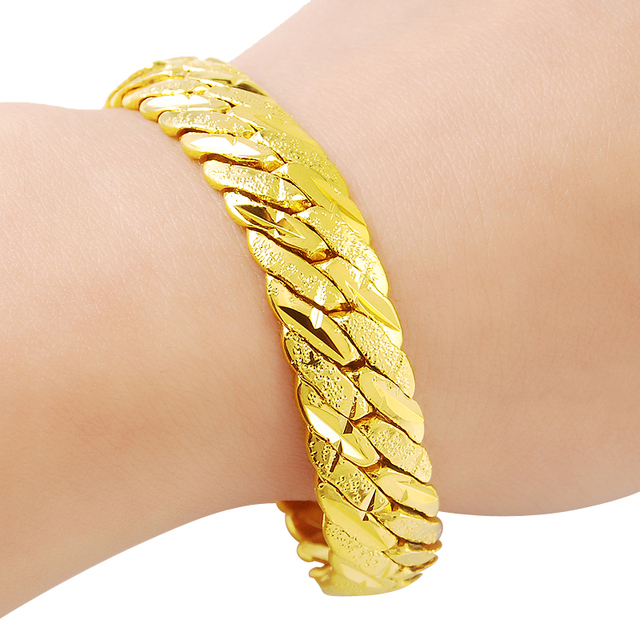 baby bracelet yellow gold golden identity in