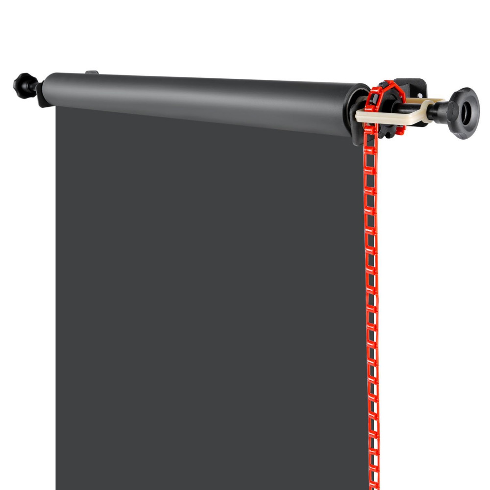 ФОТО Neewer Photography Single Roller Wall Mounting Manual Background Support System Photo Studio Equipment Heavy Duty