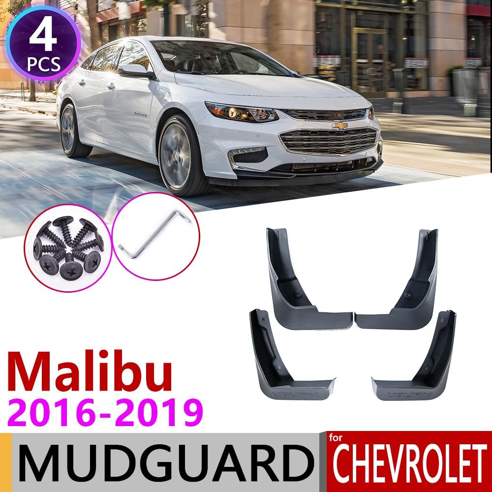 For Chevrolet Malibu 2016~2019 Mk9 Front Rear Car Mudflap Fender Mudguards Mud Flaps Guard Splash Flap Accessories 2007 2008