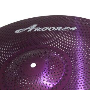 Image 3 - Arborea Purple Colour Mute cymbal 16 Crash