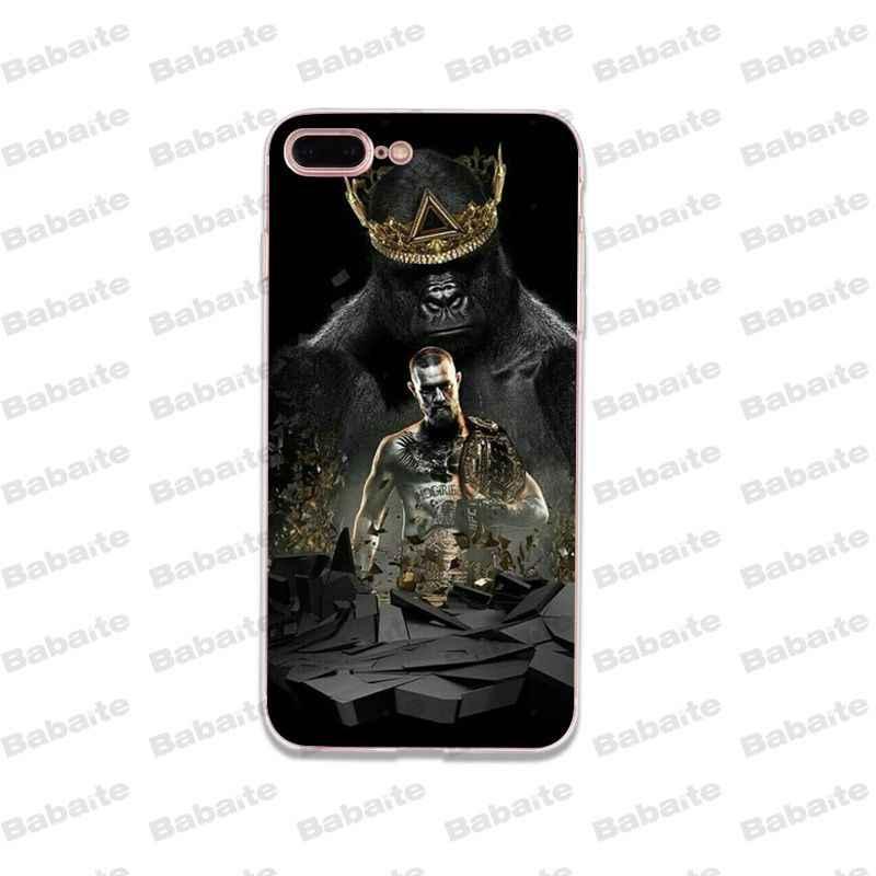 Babaite Прохладный Конор Макгрегор Мягкий силиконовый чехол для телефона из термопластического полиуретана чехол для iPhone 8 7 6 s плюс X Xs Xr XsMax 5 5S SE 5C крышка