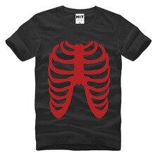 G-dragon BIGBANG skull skeleton cool Printed Mens Men T Shirt Tshirt 2015 Short Sleeve Cotton T-shirt Tee Camisetas Hombre