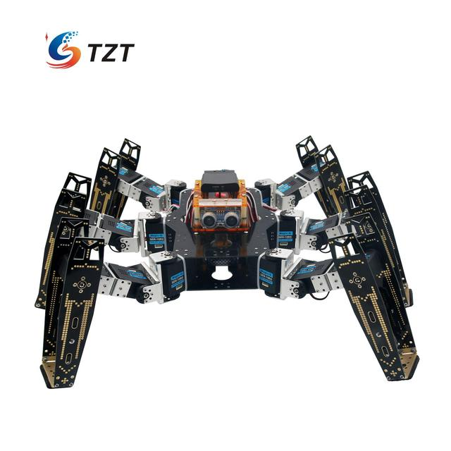 Robot Six Leg Foot Spider Full Kit with Servo Infared Remote Control for Arduino Learning