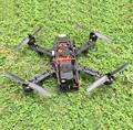 Controlador de Vuelo de Fibra de Carbono Quadcopter y CC3D QAV280 y Emax 2204 y 12A ESC & 6030 de la Hélice de Carbono para FPV fotografía