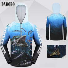 цена на New arrival Brands Mens Professional Clothes Fishing Anti UV Anti mosquit Breathable Quick-drying homme Hooded Fishing Shirt