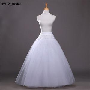 Image 1 - ร้อน Tulle กระโปรง Slip อุปกรณ์จัดงานแต่งงาน 2018 เจ้าสาว Chemise ไม่มีห่วงแต่งงาน Petticoat Crinoline