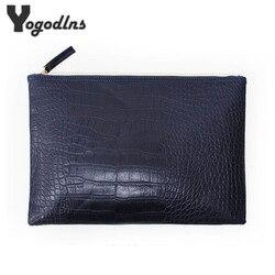 Garras moda noite saco de embreagem do sexo feminino Bolsa de crocodilo de grãos mulheres de couro saco envelope saco de embreagem das mulheres frete grátis