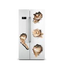Penguin Refrigerator Vinyl Decals