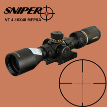 SNIPER VT 4-16X40 Sights Hunting Compact Optical Sight Tactical Riflescope Glass Etched Reticle First Focal Plane Rifle Scope marcool evv 4 16x44 ffp first focal plane tactical riflescope scopes hunting optical sight rifles with etched glass rangefinder