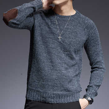 2019 New Fashion Brand Sweater For Mens O-Neck Slim Fit Jumpers Knitting Solid Color Autumn Korean Style Casual Mens Clothes - DISCOUNT ITEM  40% OFF All Category