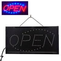 110 V Luminoso Animati Movimento Neon LED Business Negozio Negozio Segno APERTO-L057 Nuovo caldo