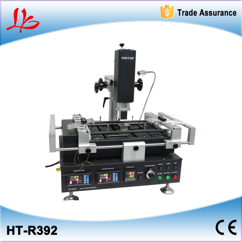 Honton HT-R392 Infrared+hot air BGA rework system,bga rework machine,soldering station  цены
