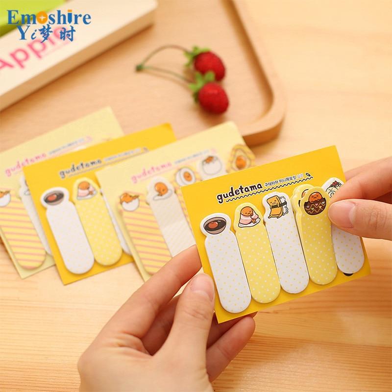 Cute Kawaii Korean Rilakkuma Stikcy Notes Paper Page Flag Memo Pad Post It Stickers Notepads Set School Supplies Kids N009