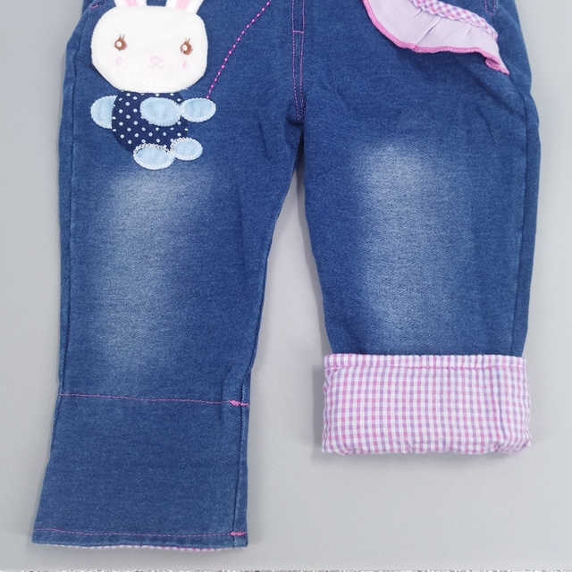 Chumhey Baby Girl Clothing Sets Kids Jeans Bib Overalls High Quality Cotton T Shirt With Denim Jumpsuits For Spring Autumn