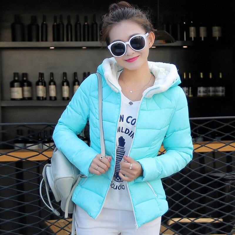 2016 Rushed Zipper Broadcloth Slim New Winter Plus Size Thicking Women Down Coat Jacket Medium Length