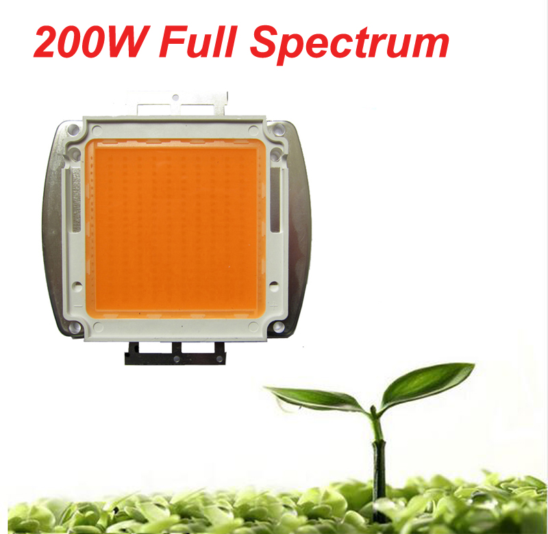 1pcs BridgeLux 14,000LM Led Grow Light Chip 200W Full Spectrum 380nm~840nm SMD LED Growth Light Lamp For All Stage Plant Grow mosambik malawi 1 1 200 000