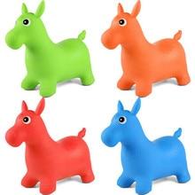 1 шт. надувной батут, Прыгающая лошадь, игрушки для детей, животные, Прыгающая лошадь, игрушки-Хоппер, детские игрушки для игры