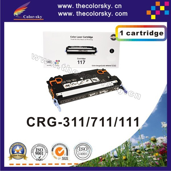 (CS-H7580-7583) toner laser cartridge for Canon CRG-311 CRG-711 CRG-111 CRG311 CRG711 CRG111 CRG 311 711 111 6k/4k free FedEx цена