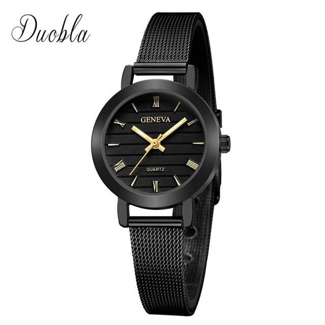 High Quality Bracelet Watches Women Classic Luxury Brand Steel Strap Quartz Watc