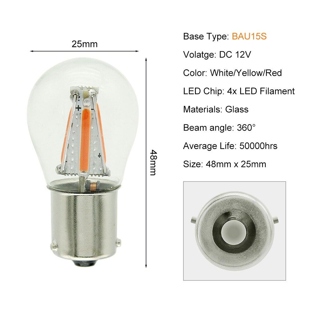 BAU15S 4 COB LEDs
