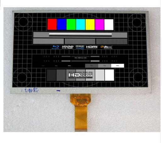 Nouveau LCD Affichage 235*143mm 40pin 10.1 Pour Ginzzu GT-X831 Tablet LCD Écran Panneau Lentille En Verre Module remplacement