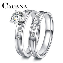 49cfcfbb94c Popular Stainless Steel Wedding Band Sets-Buy Cheap Stainless Steel ...