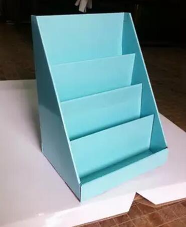 Durable Paper Display Stand For Showroom/a4 Paper Display Stand In Exhibition/beautiful Display Rack For Greeting Card