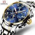 Business Men Watch Carnival Top Brand 6 Hand Multifunction Mechanical Watches Luminous Roman Numerals Waterproof Wrist watch - 1