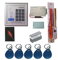 New Upgrade 3 000 Users Complete Standalone RFID Door Access Control System Kit With Bolt Lock