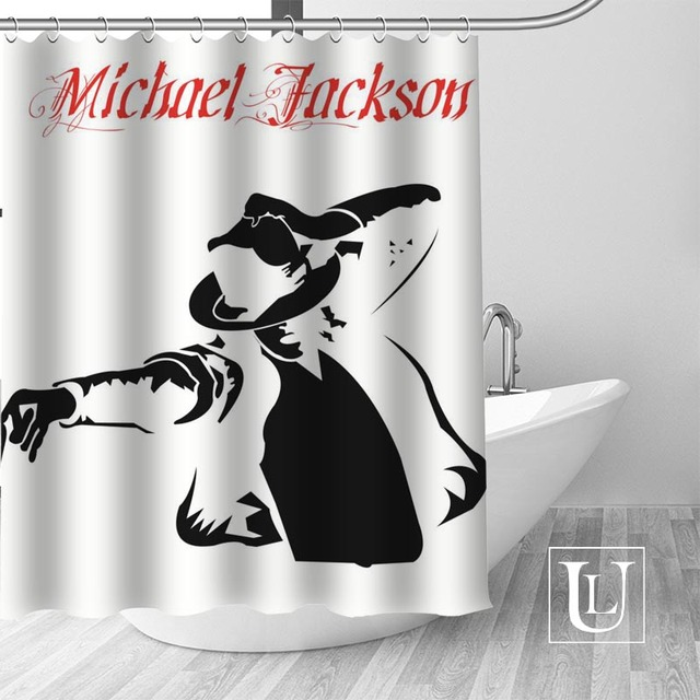 15 Shower Curtain Michael jackson shower curtain jackson galaxy 5c64f7a44ec73