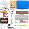 SunFounder Ultimate Starter Kit For Raspberry Pi With Detailed Manual For Beginners US Plug
