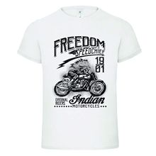 SPEED CHIEF INDIAN 2 SINCE 1901 CLASSIC VINTAGE funny dtg mens t shirt tees100% Cotton Short Sleeve O-Neck Tops Tee Shirts цена и фото