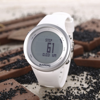 SUNROAD FR852 Men Digital Sports Watch Thermometer Altimeter Barometer Compass Wristwatch