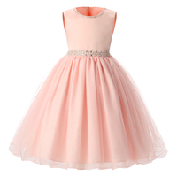 0 7 Years Baby Birthday Prom Pageant Party Girl Dress For Children S Costume Kids Dresses
