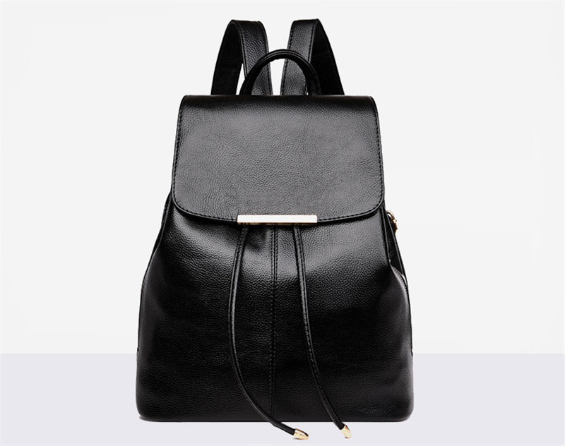 Fashion Women Backpack Soft Leather Youth Backpacks for Teenage Girls Female Casual School Shoulder Bag Mochilas Travel BagpackFashion Women Backpack Soft Leather Youth Backpacks for Teenage Girls Female Casual School Shoulder Bag Mochilas Travel Bagpack