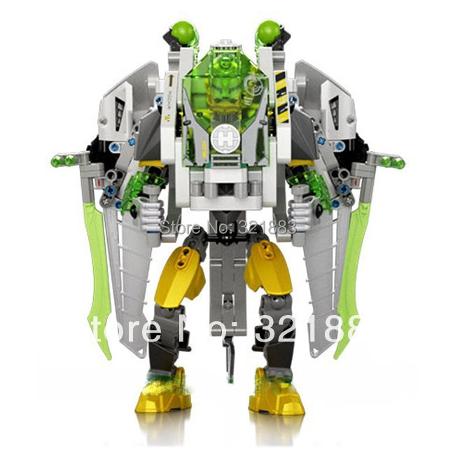 super hero factory 50 jet rocka 10388 building blocks sets 290pcs action figures diy construction bricks