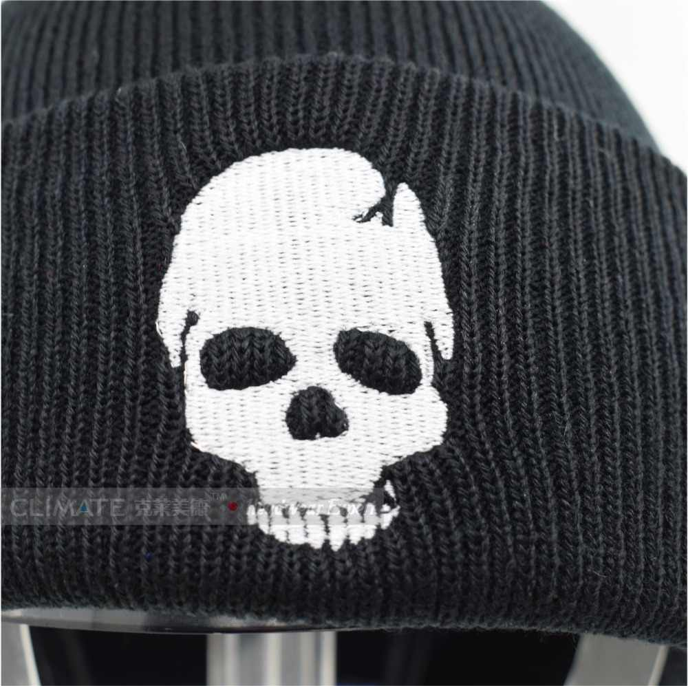 9fc77085872 ... CLIMATE Skeleton Mens Beanies Winter Hats for Men Warm Knitted Hat  Beanies Skulls Cool Black Hip ...