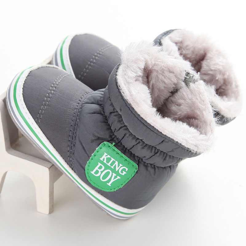 f311b896c 2017 New Baby Boy Snow Boots Winter Warm Infant Boot Toddler Shoes ...