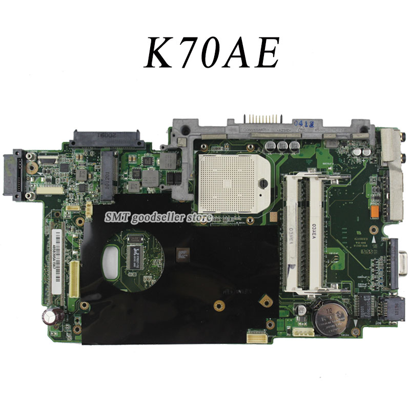 все цены на  For Asus K70AE Motherboard K51AB REV2.3 Mainboard DDR2 100% working  онлайн
