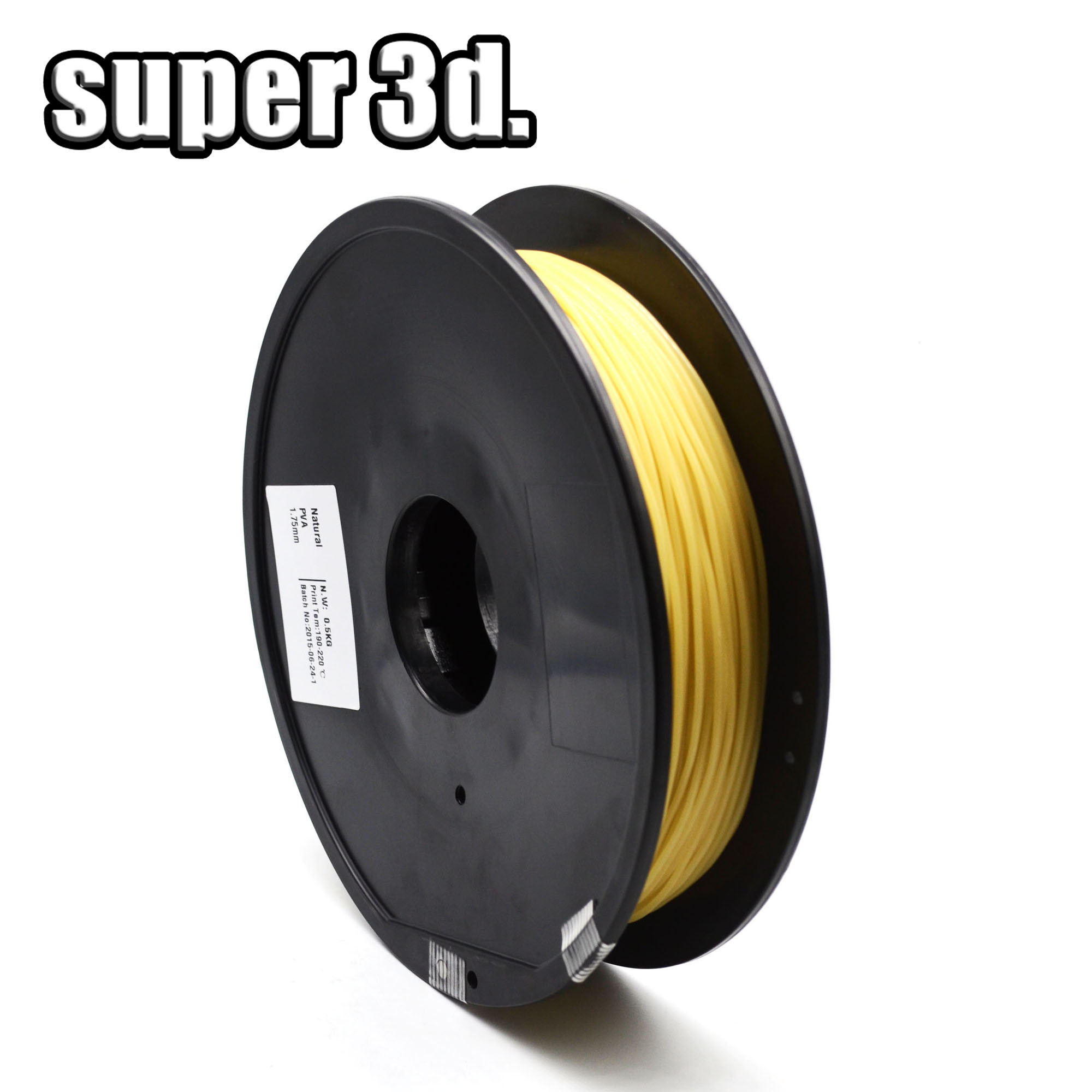 3D プリンタ水溶性フィラメント 1.75 ミリメートルプラスチックハンドル 0.5 キロ PVA ABS PLA PA ヒップ印刷 impressora 3D プリンタ  グループ上の パソコン & オフィス からの 3Dプリンタ造形材料 の中 1