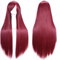 250g 20 Colors 80cm Women Straight Anime Straight Wigs Long Hair Harajuku Kinky Cosplay Wig For Black Women W001