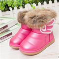 aercourm A Winter New Girls Shoes Baby Todder Boots Rabbit Fur Boots BabyShoes Snow Kids Boots Colorful Princess Warm Plush Shoe