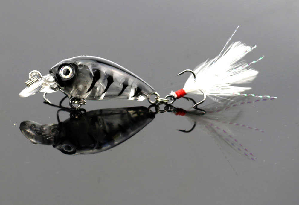 5 uds mini crankbait topwater peche carpe cebo artificial para pesca aparejo 3,6 cm 4g pesca pececillo aparejo wobblers Cigüeñal