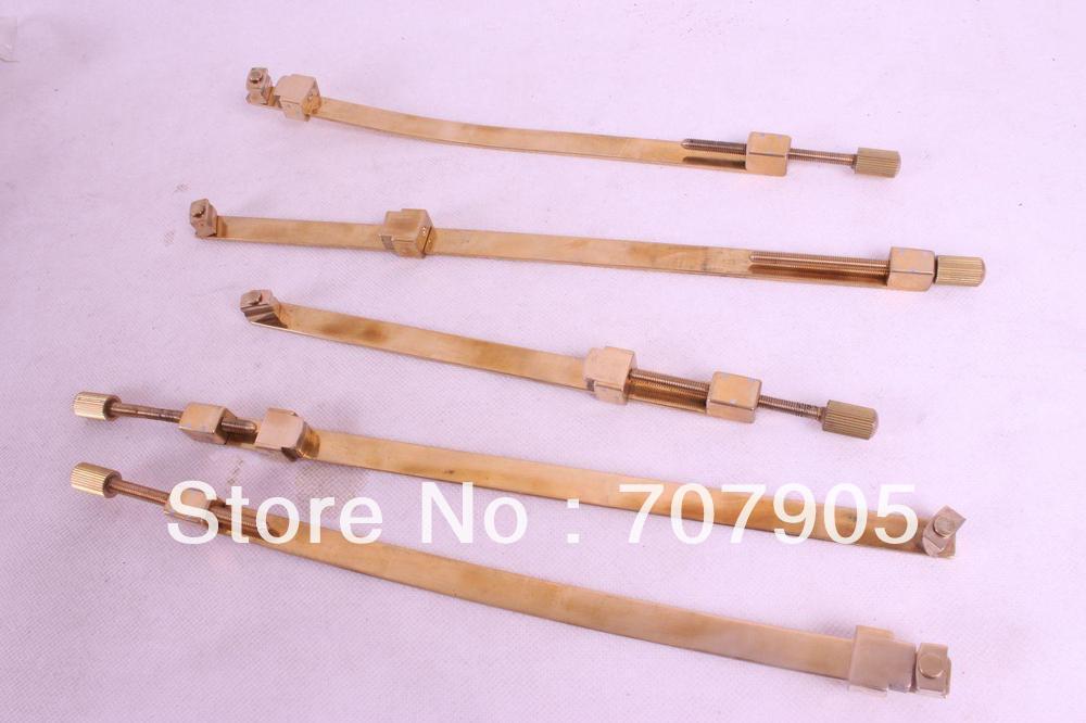 5 шт. инструмент для скрипки, латунный ремонтный зажим трещин, инструмент Luther# Q37