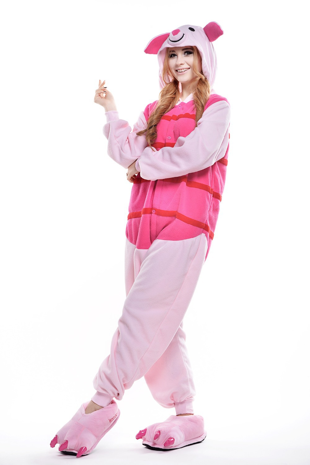 Adult Piglet Costume Plus Size Peppa Pig Halloween Costume For