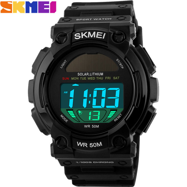 2017 New SKMEI simple Brand Men Military Sports fashion casual  Watches Digital LED Wristwatches rubber strap relogio masculino