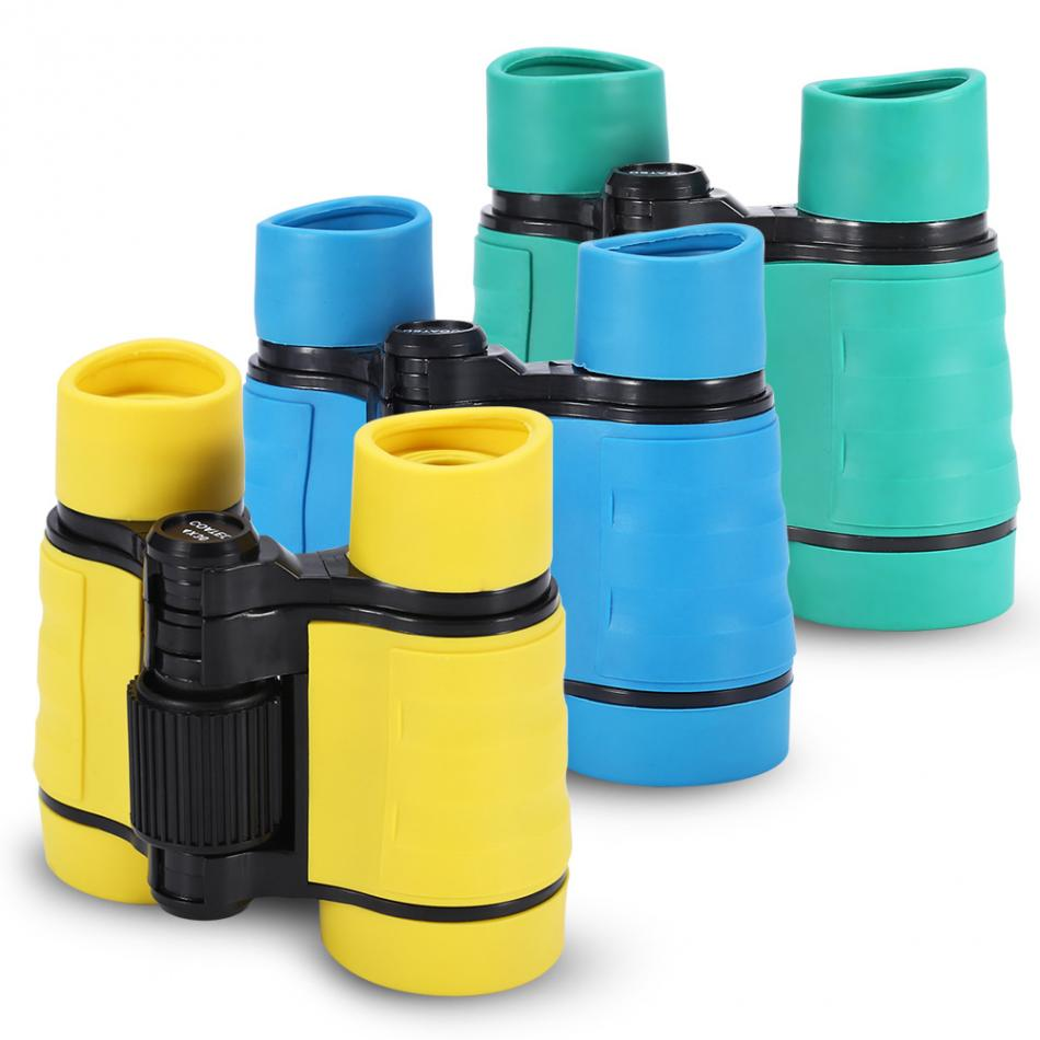 Sports & Entertainment Creative 4x30 Plastic Children Binoculars Pocket Size Telescope Maginification Outdoor Camping Tools Bird Watching Kids Games Scope Gifts