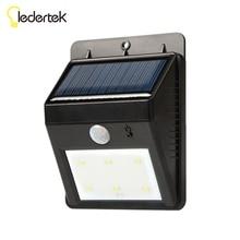 New 6 led Outdoor Solar Sensor LED Light  PIR Motion Sensor