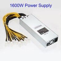 G1029 1600W APW3 Mining Machine Power Supply For Antminer Miner S9 S7 L3 D3 XXM8